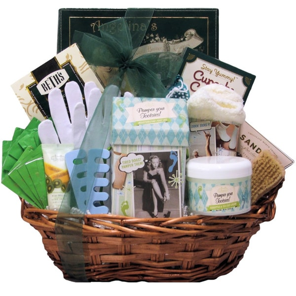 Hands and Feet Specialty Spa Bath and Body Gift Basket