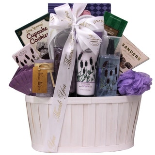 Lavender Spa Pleasures Administrative Professionals Day Gift Basket