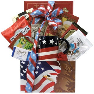 Enduring Freedom Welcome Home Solider Gift Basket