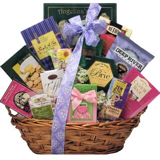 Indulge and Delight Mother's Day Gourmet Snacks and Sweets Gift Basket