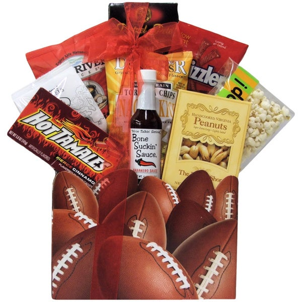 Football Dad Father's Day Gift Basket