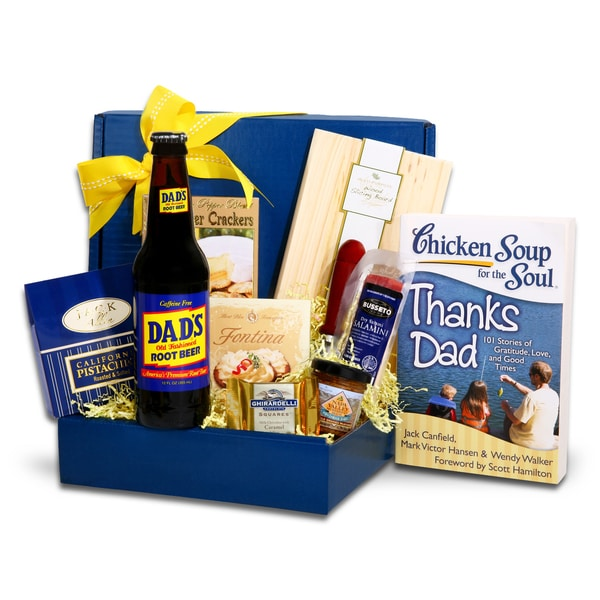 Alder Creek Gift Baskets Chicken Soup for the Soul Dad's Gourmet Gift Box