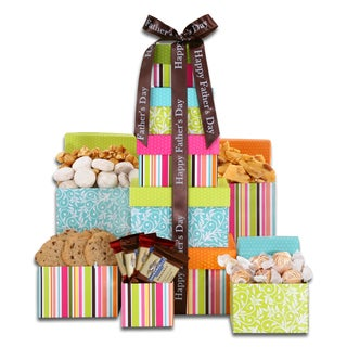 Alder Creek Gift Baskets Father's Day Treats Tower
