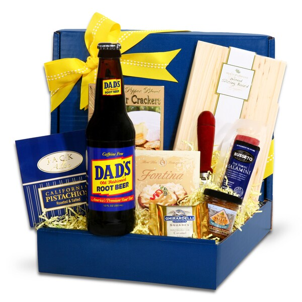 Alder Creek Gift Baskets Dad's Gourmet Gift Box