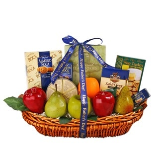 Alder Creek Gift Baskets Father's Day Fresh Fruit Gourmet
