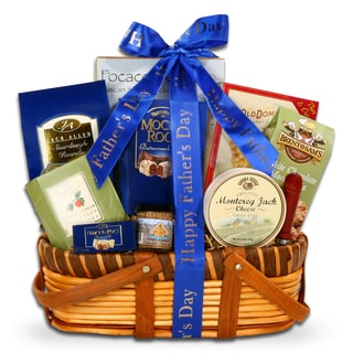 Alder Creek Gift Baskets 'Gourmet Gifts for Dad' Gift Basket