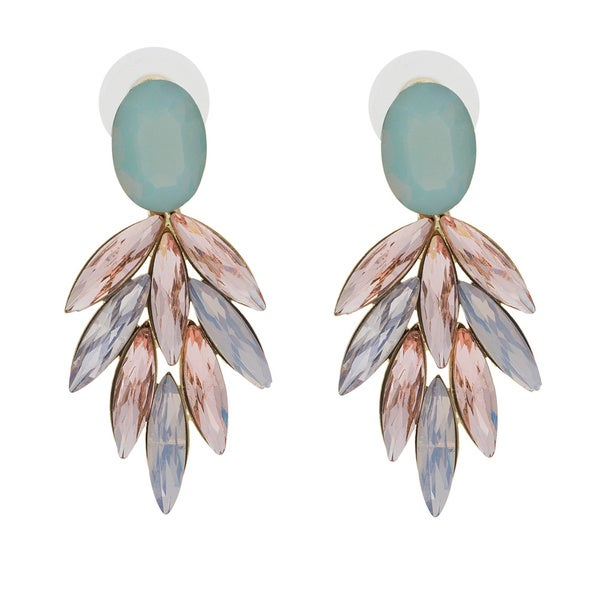 NEXTE Jewelry Red Carpet Soft Pastel Marquise Dangle Earrings