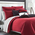 Nautica Mainsail Red Reversible 3-piece Comforter Set