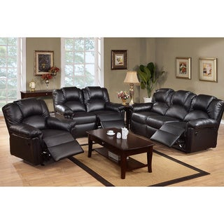 Grenoble Bonded Leather Reclining Living Room Set