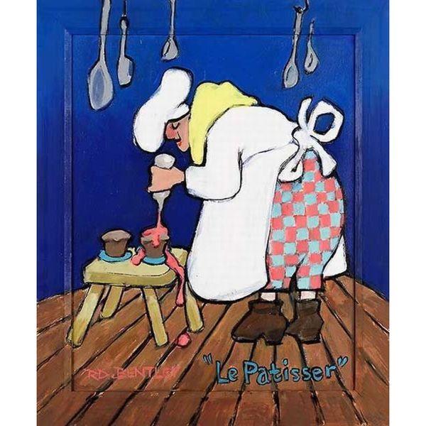 Robert Dewar Bentley 'La Patisser' Canvas Art