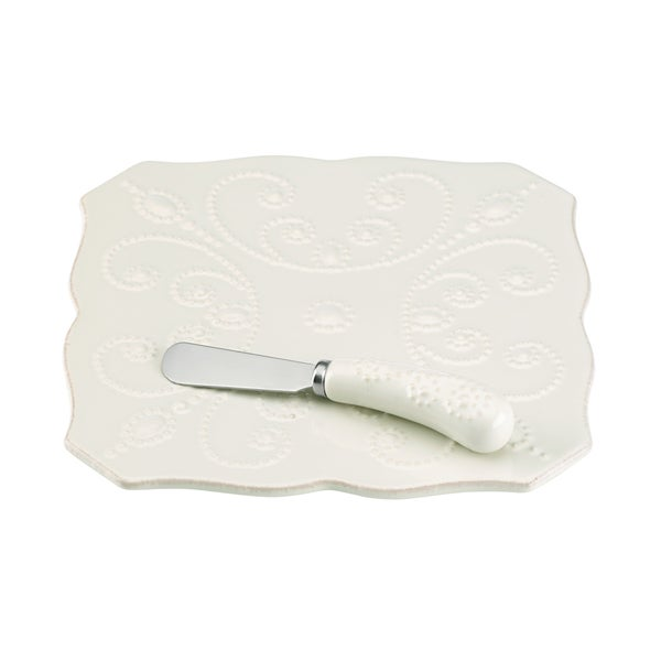 French Perle White Trivet
