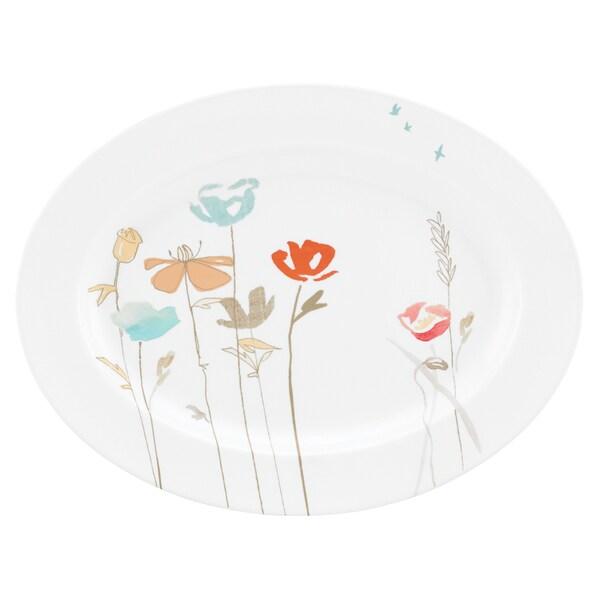 Poppy Street Oval Platter