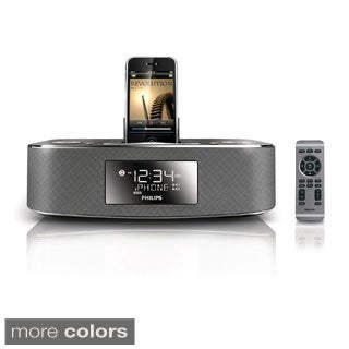 Philips Alarm Clock Speaker Dock for 30-Pin Apple Devices (New in Non-retail packaging)