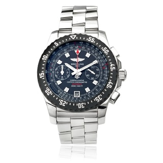 Breitling Men's Stainless Steel Skyracer Raven Chronograph Watch