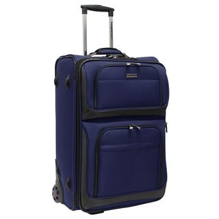 Traveler's Choice Conventional II 26-inch Medium Rugged Rolling Upright Suitcase
