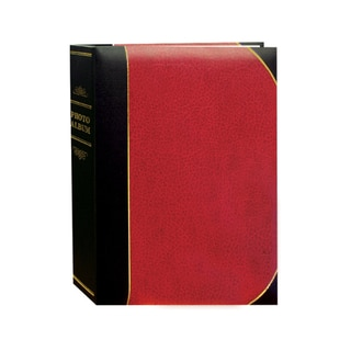 Pioneer Photo Albums 100-pocket Leatherette Cover Ledger Style Album (Set of 2)