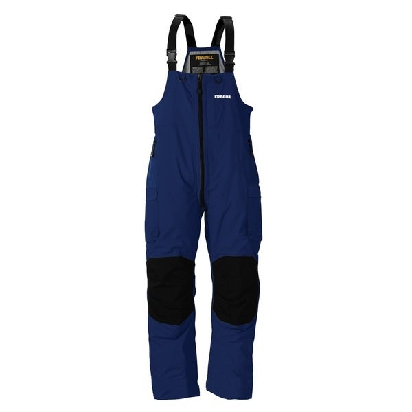 Frabill F3 Gale Blue Rainsuit Bib