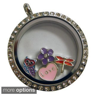 Living Locket Meadows Charms Necklace