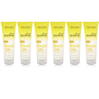 John Frieda Sheer Blonde Go Blonder Lightening 8.45-ounce Shampoo (Pack of 6)