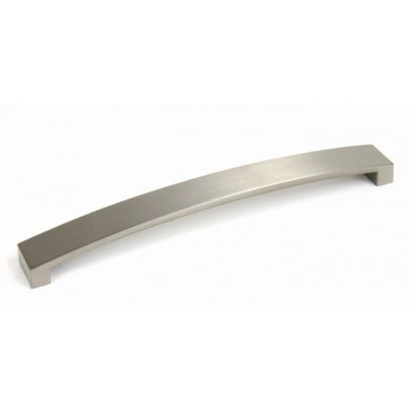 "Contemporary 9-1/4"" Flat Arch Stainless Steel Finish Cabinet Bar Pull Handle (Case of 25)"