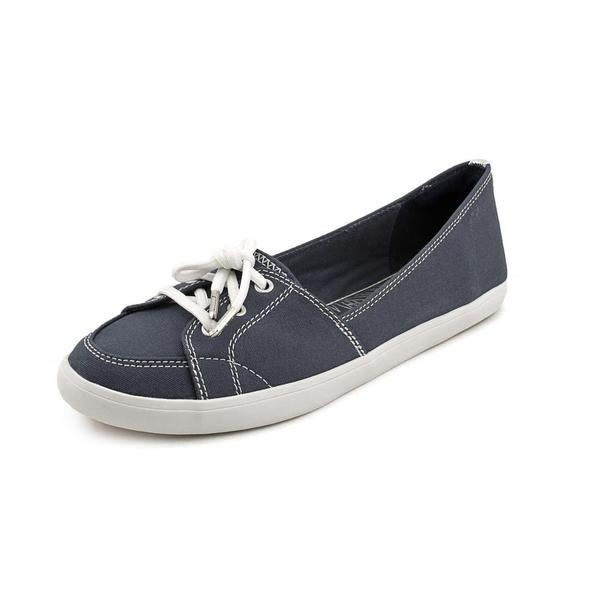Women's Naturalizer Curve Navy 8D Canvas
