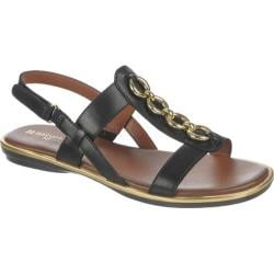 Women's Naturalizer Harrison Black Atanado Veg L Leather