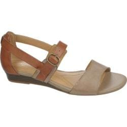 Women's Naturalizer Jenelle Dover Taupe/Saddle Tan Snow Mirage Leather