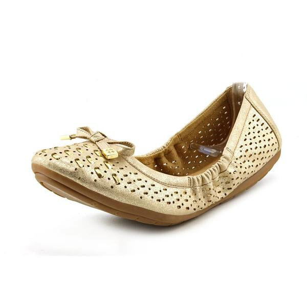 Women's Naturalizer Ulysses Gold Metallic Hazy Polyurethane