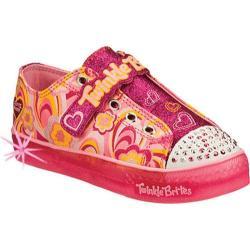 Girls' Skechers Twinkle Toes Twinkle Brites Boogie Lights Pink/Multi