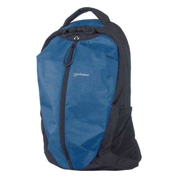 "Manhattan Airpack 15.6"" Laptop Backpack, Blue/Black"