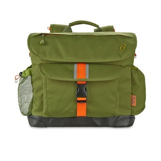 Bixbee Safari Green 'Signature' Kids Backpack