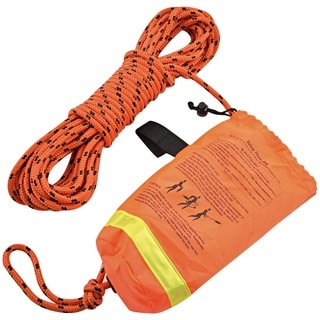Shoreline Marine Rescue Throw Rope - 1/4 inches x 50-foot