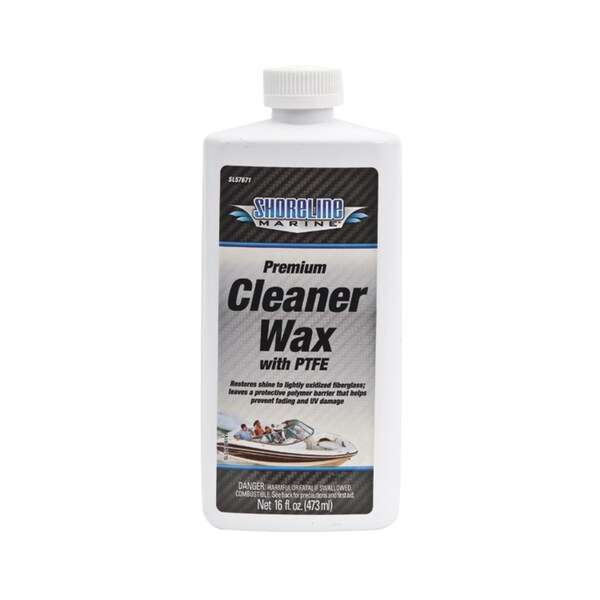 Shoreline Marine Premium Cleaner Wax - 16-ounce