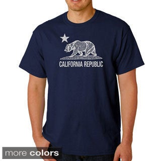 Men's California Republic Bear T-shirt