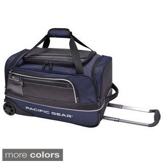Pacific Gear Drop Zone 22-inch Carry-on Rolling Upright Duffel Bag