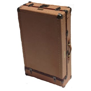 Vintage Leather Reclaimed Tourist Trunk