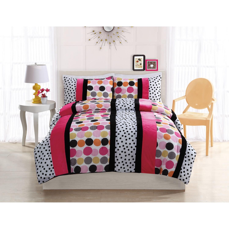 Overstock.com Dani Dot 3-piece Comforter Set