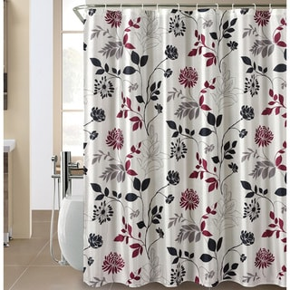 Wild Bloom Shower Curtain and Hook Set