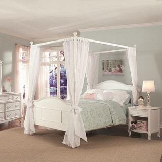 Emma 4-post Full Bed with Tall Headboard and Footboard