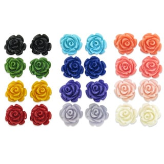 Eternally Haute Steeling Beauty Garden Collection Stud Earrings