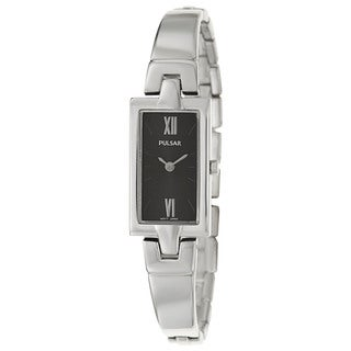 Pulsar Women's PEGG11 'Easy Style' Stainless Steel Japanese Quartz Watch