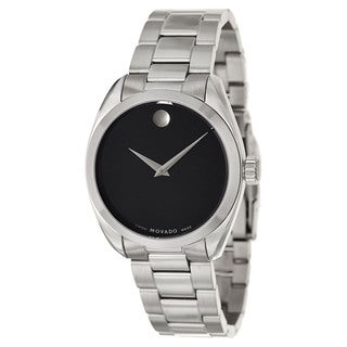 Movado Men's 0606778 'Museum' Stainless Steel Swiss Quartz Watch