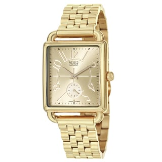 ESQ By Movado Women's 07101408 'Origin' Gold-tone Stainless Steel Watch