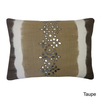 14 x 20-inch Sheesha Tie-dye Lumbar Accent Pillow