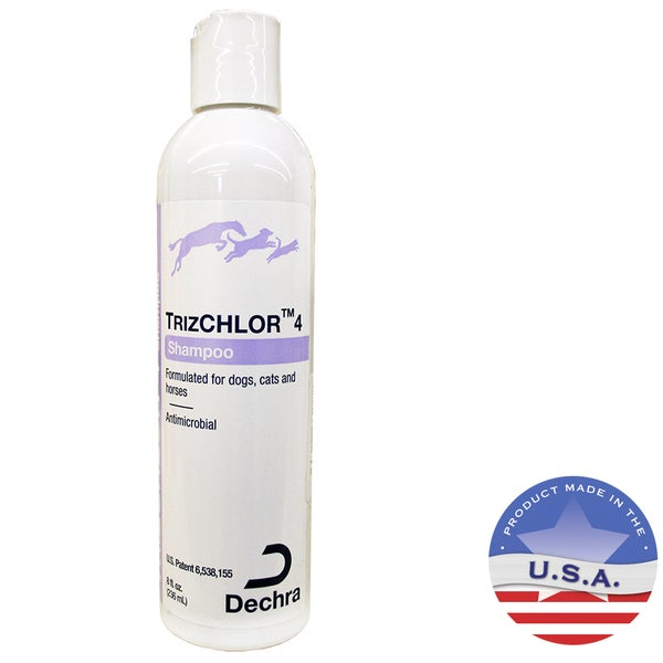 TrizChlor 4 Antimicrobial 8-ounce Pet Shampoo