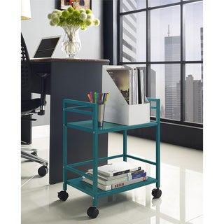 Marshall 2-shelf Rolling Utility Cart