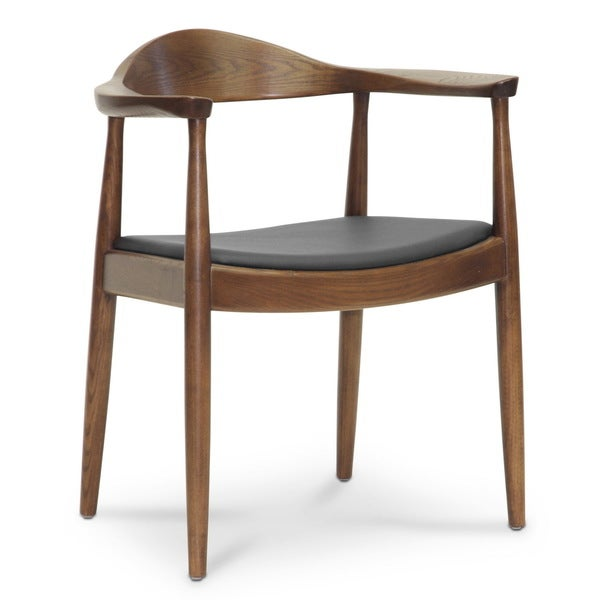Baxton Studio Embick Mid Century Modern Dining Chair Single Chair 1624991