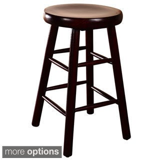 Backless Beechwood Counter Stool