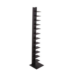 'The Book Shelf' Solid Steel Standing Book Shelf