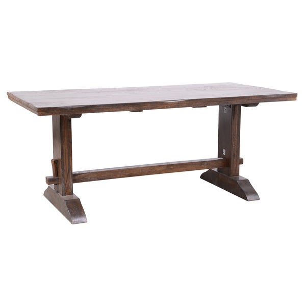 Kosas Home Armada Medium Brown Rectangular Dining Table 16249945